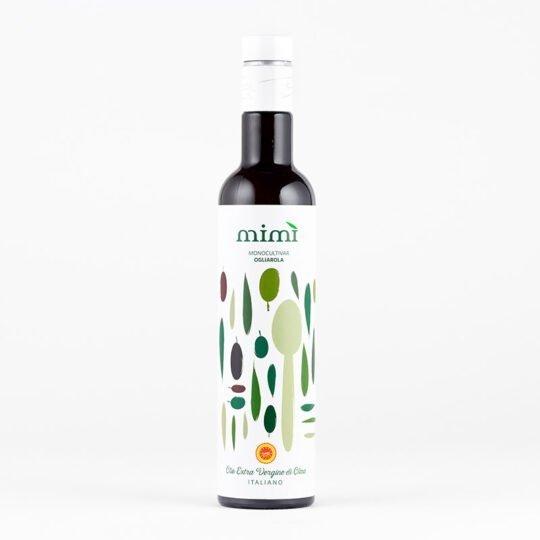 Olio Extra Vergine di Oliva Ogliarola DOP bottiglia da 500ml