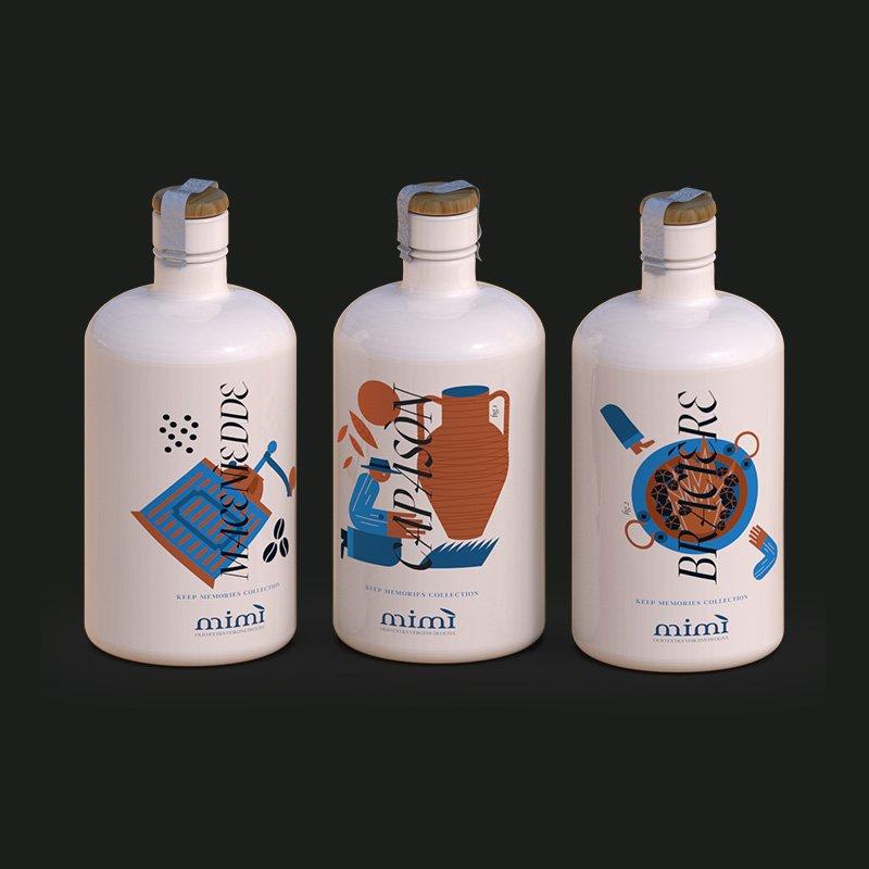 Idee regalo - Bottiglie di olio da collezione