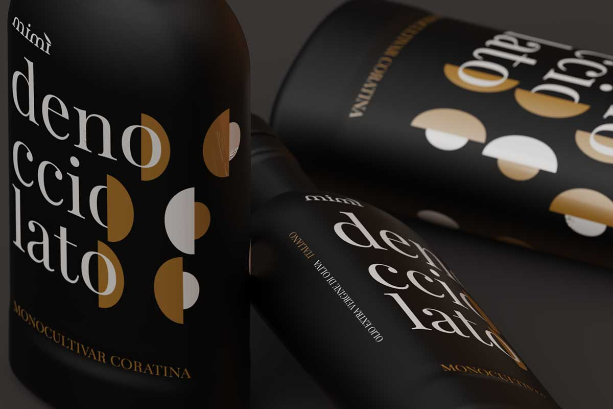 Olio d'oliva Pugliese Denocciolato